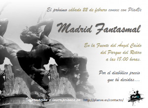 cartel Madrid Fantasmal 22 febrero